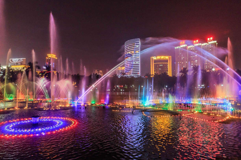 Nanning –One of the most beautiful cities in China; bridge between China and ASEAN.