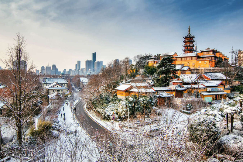 Nanjing –The capital of China before 1949, a city with Chinese tradition as the background.