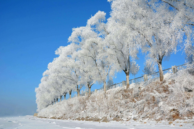 Jilin –A small city in Jilin Province, Cold in the winter