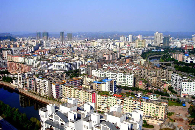 Guangan –It is most famous as the birthplace of China's former paramount leader Deng Xiaoping.