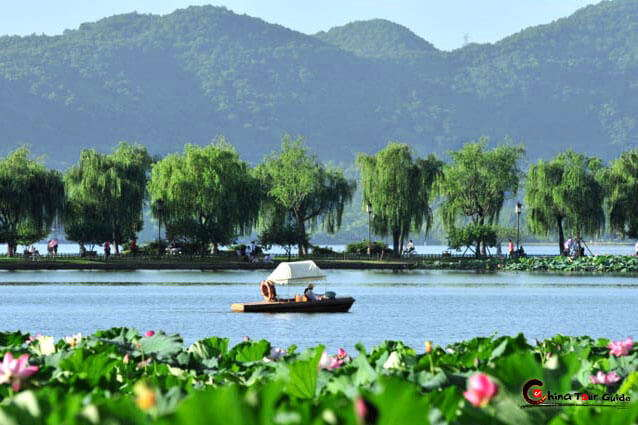 Hangzhou –A garden style city in China by its landscape and culture, neighboring with Shanghai.