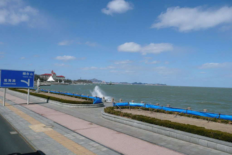 Yantai –A small coastal city in Shandong Province, known for its world famous apple.