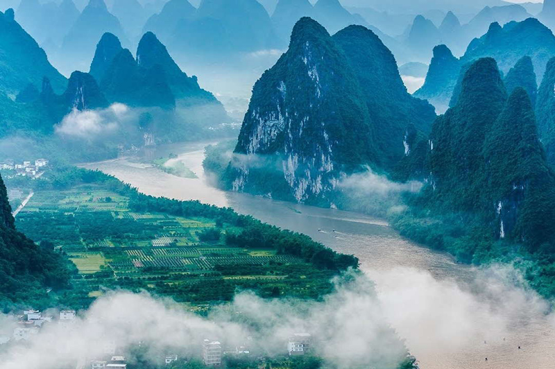 Guilin –East or west, Guilin landscape is best!