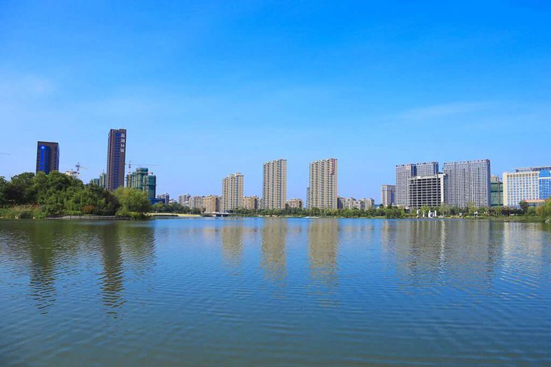 Xuzhou –A small coastal city in Jiangsu Province, a transportation center of China.