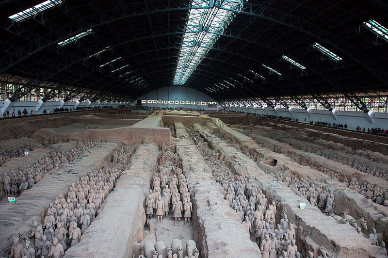 Xi'an –One of the historical cities that foreigners must go and see, well known for Terra-Cotta Warriors.