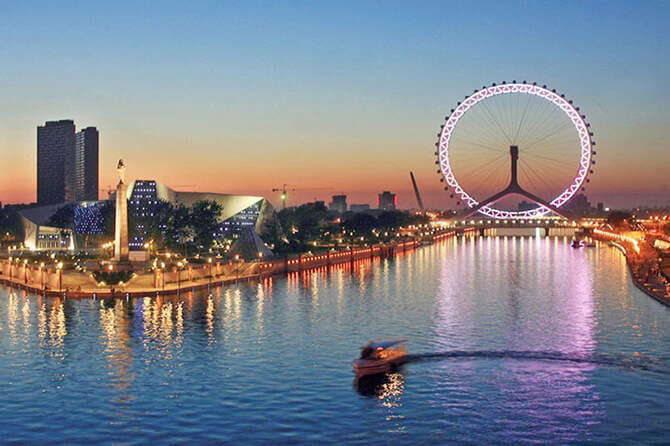 Tianjin –Beijing's Twin city and it is one of the fastest-growing cities in China.